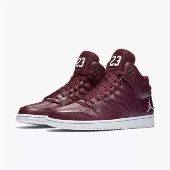 6c64b94f0f62ae Nike Jordan 1 Flight 4 Night Maroon 10.5